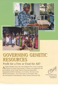 Governing Genetic Resources